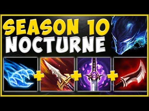 NEW SEASON 10 ITEM MAKES NOCTURNE BEST TOP LANER?? NOCTURNE SEASON 10 GAMEPLAY! - League of Legends