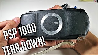 PSP 1000 Complete Disassembly 2020 - EASY Tutorial Step By Step - PlayStation Portable 1000 (Phat)
