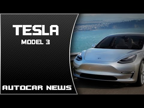 [WOW] Tesla Model 3 Is the Coolest Car of 2017