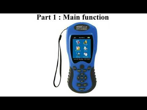 GPS Land Meter NF-198 GPS Survey Equipment Use For Farm Land Surveying And Mapping Area Measurement