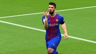 Barcelona vs Celta Vigo 3-0    2 December 2017 Gameplay
