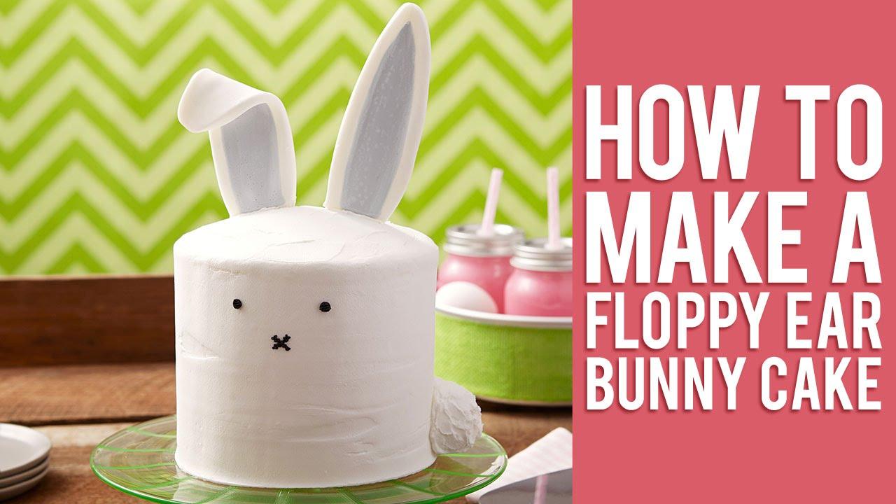 Bunny Rabbit Cake Decorations