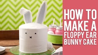 Easter Bunny Cake Video How To