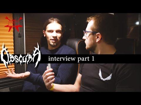 An interview with Steffen Kummerer (Obscura) *part 1* - e-gitarzystaTV.