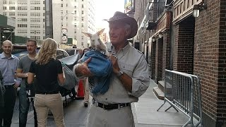 Jack Hanna - Final Appearance on the Late Show with David Letterman 4/29/15