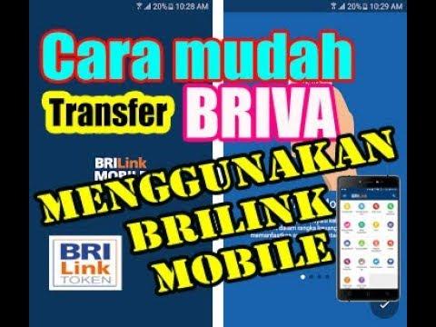 Cara mudah transfer BRIVA menggunakan brilink mobile