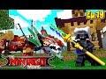 Minecraft LEGO NINJAGO - LORD GARMADON SPAWNS A GRUNDLE TO HUNT THE NINJAGO!!