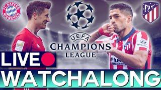 Bayern Munich vs Atletico Madrid (Champions League) - Rabona TV Subscriber Watchalong