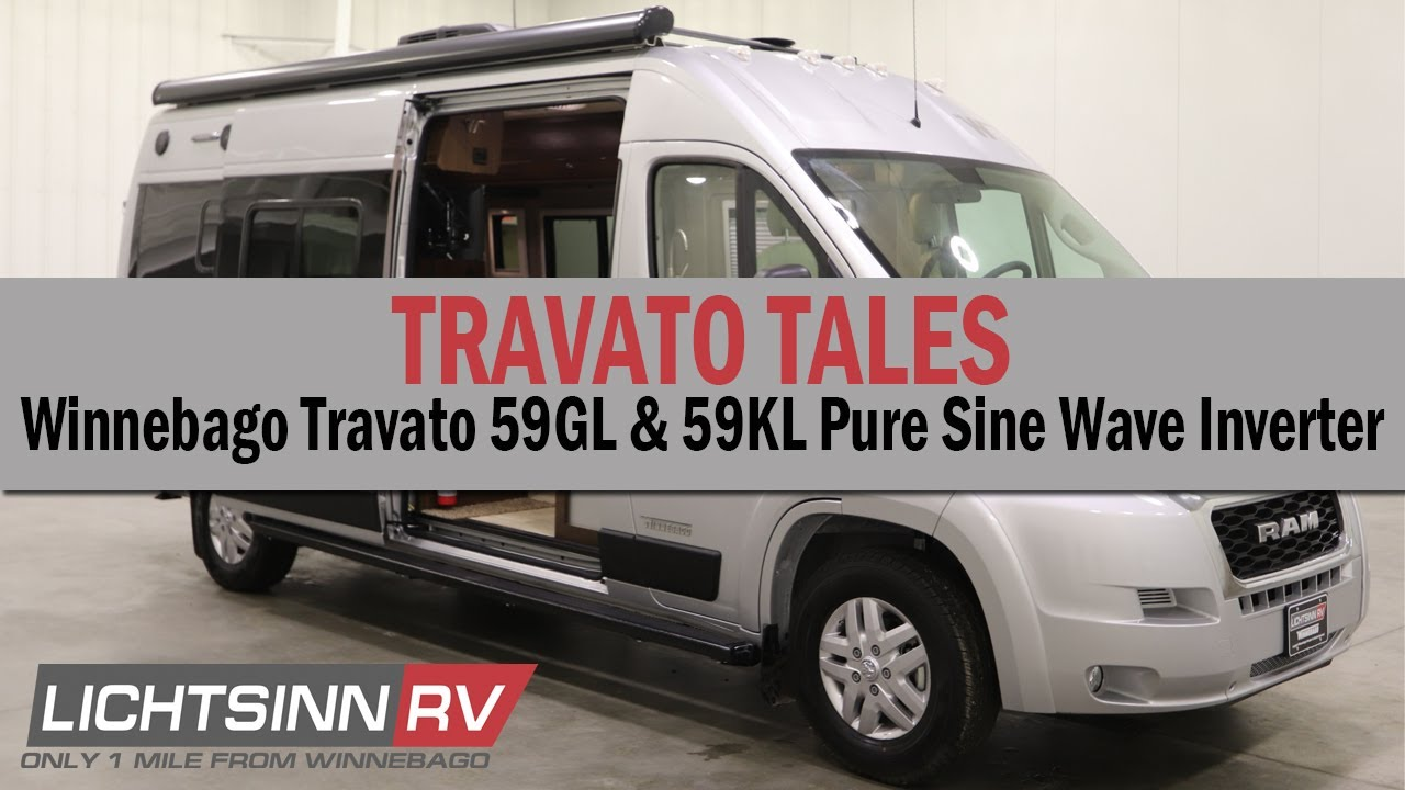 Winnebago Travato 59GL and 59KL Pure3 Lithium Overview