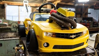 Download 500cc Camaro Go Kart Gets Side Pipes Mp3 and Videos