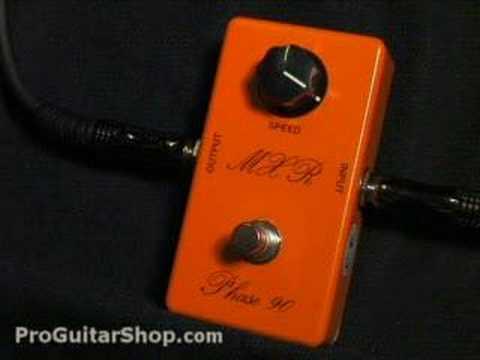 9fecf7415aa MXR Phase 90 74 Vintage Phaser - YouTube