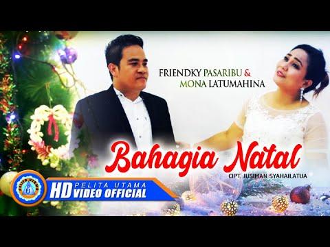 Friendky Pasaribu & Mona Latumahina - BAHAGIA NATAL  [HD]