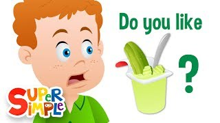 Do You Like Pickle Pudding? | Super Simple Songs thumbnail