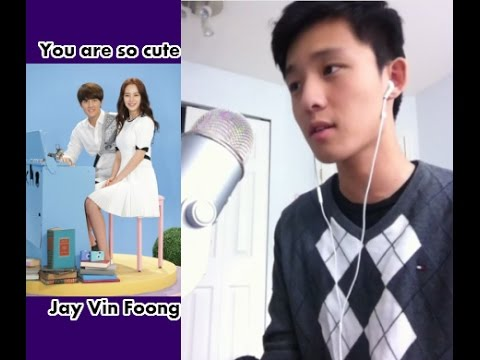 Kenji Wu ft. Song Ji Hyo - You Are So Cute ( 你好可愛 ) Cover By JayVinFoong 冯佳文