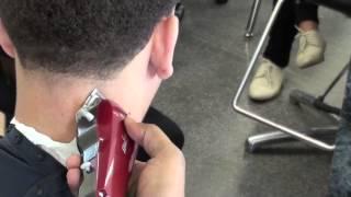 Haircutting: Clipper cutting class: Temple Taper