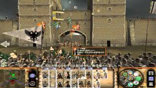 Medieval II シチリア対ムーア 籠城戦 (Siciry vs. Moors siege warfare) (Stainless Steel 6.4)