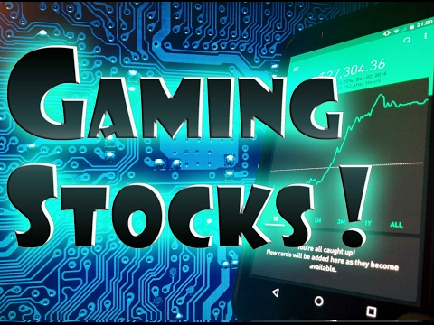 Robinhood APP - BEST Video Game and Gaming Stocks!
