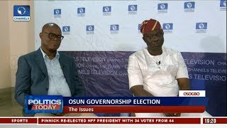 APC,PDP Face Off On Issues Surrounding Osun Governorship Election  Pt.2  Politics Today 