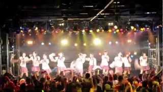 山口県のご当地アイドルの「山口活性学園」アイドル部 2012/7/15(日)...