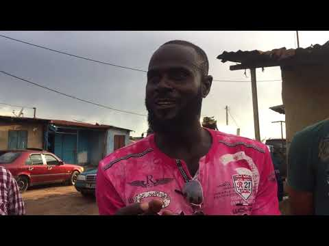 local Gambian guide Ibragem tell us about fish market