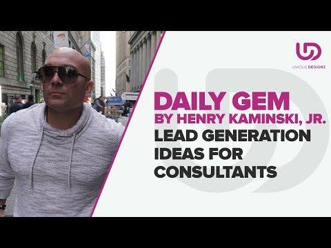 Lead Generation Ideas For Consultants | The Brand Doctor | Unique Designzs