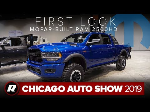 Mopar mods the 2019 Ram 2500 HD with off-roading accessories | Chicago 2019