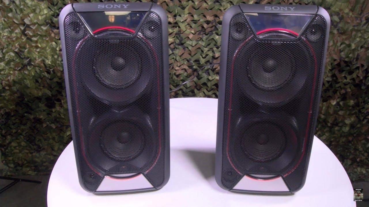Sony GTK-XB90 Speakers - REVIEW