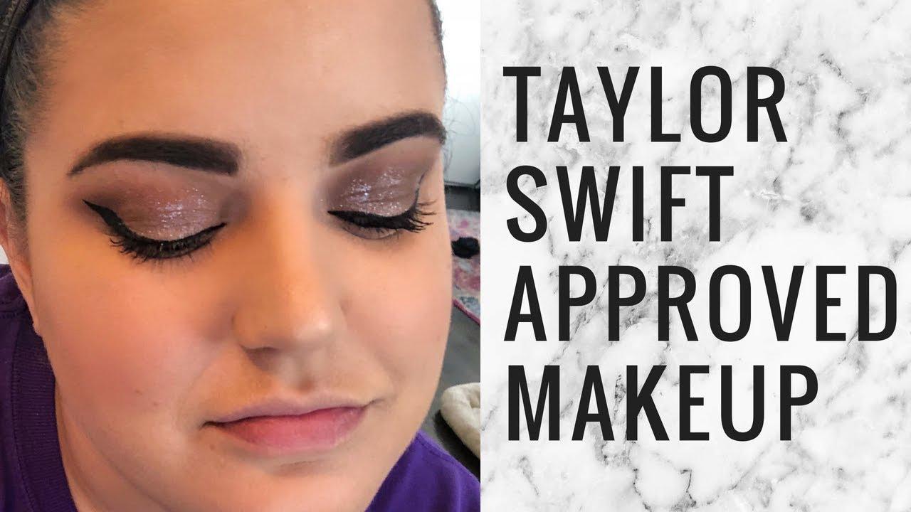 Glittery Smokey Eye Tutorial Taylor Swift Approved