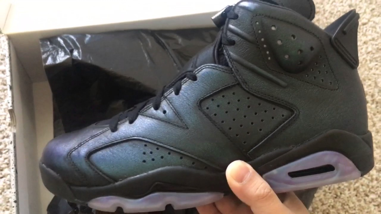 957a1e80348 Air Jordan 6 All Star Gotta Shine Pick Up from Footlocker - YouTube