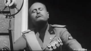 Donald Trump, great Mussolini impersonator