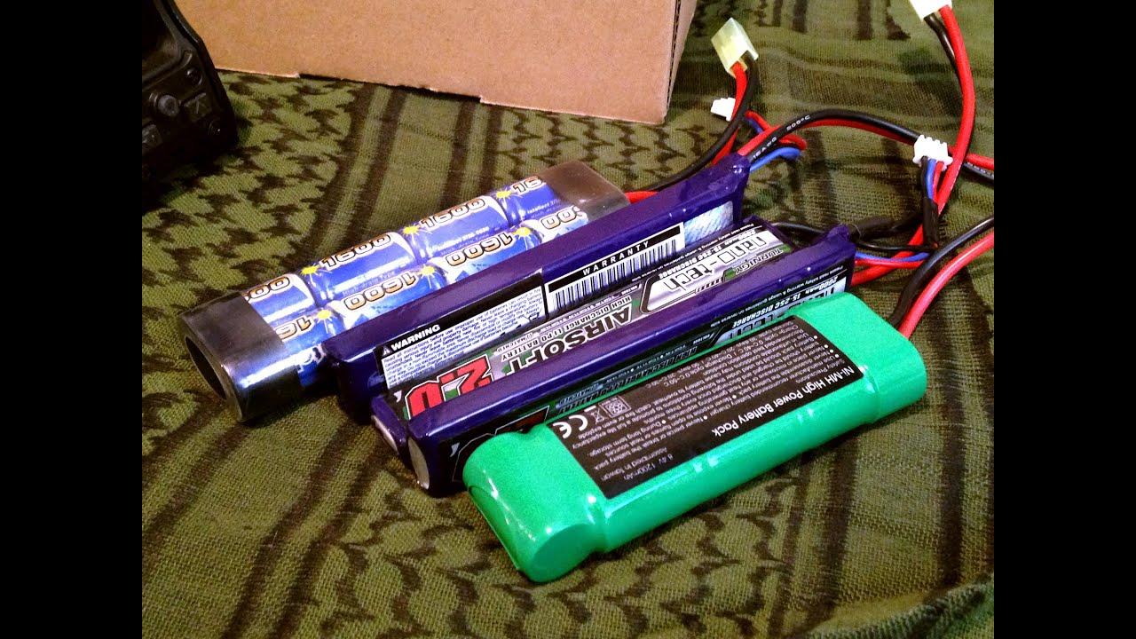 8 4v 9 6v NiMh vs 7 4v 11 1v LiPo Rate of Fire Long Battery Type [Ramble]
