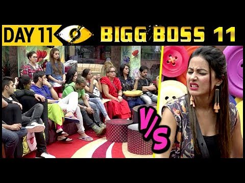 Hina Khan Vs Housemates | Bigg Boss 11 Day...