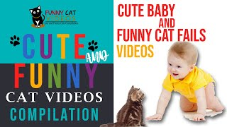 Cute Baby and Funny Cat Fails Videos | Best Cat Videos Compilation 2020
