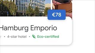 Google Sustainability | Travel more sustainably | Google Hotels