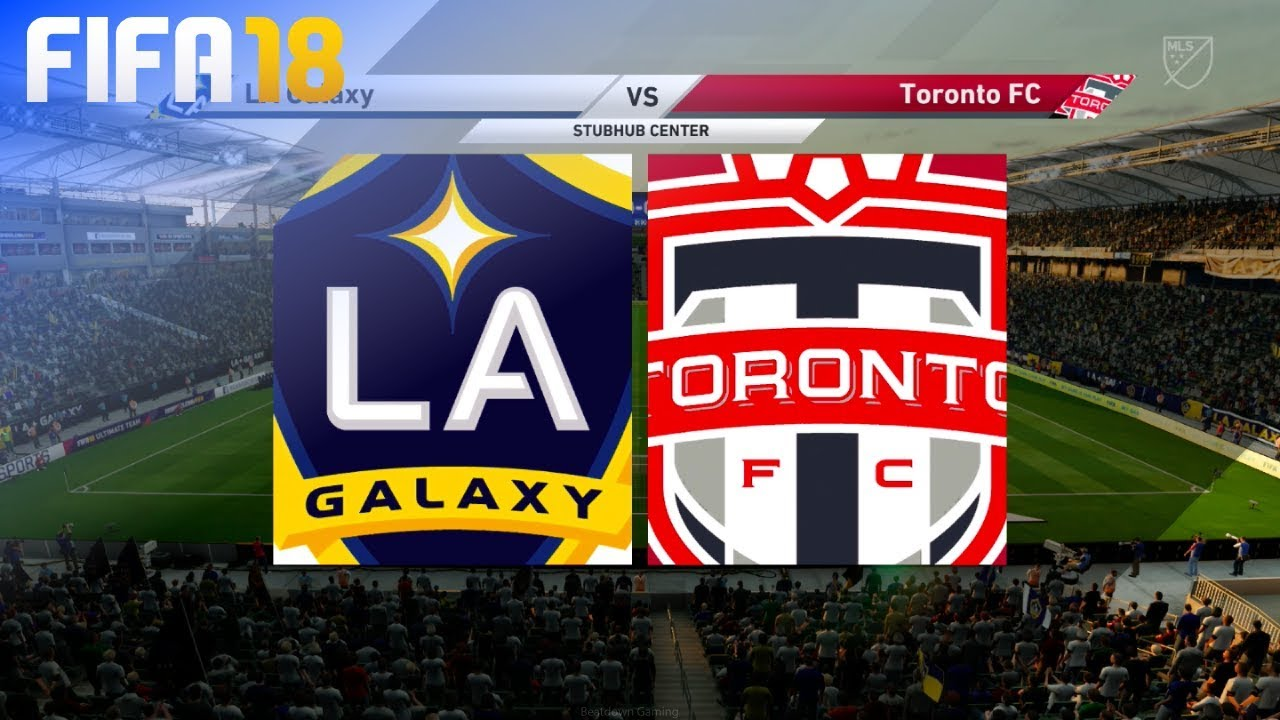 Fifa 18 Demo La Galaxy Vs Toronto Fc Stubhub Center Youtube