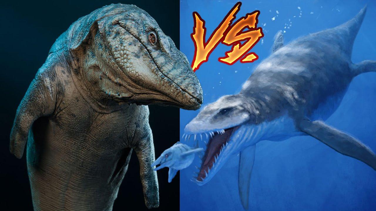 Mosasaur vs Liopleurodon   Ancient Monster Fight - YouTube  Mosasaur vs Lio...