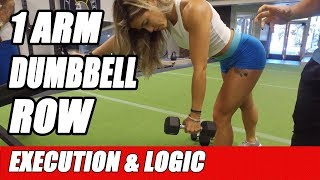 How to do 1 Arm Dumbbell Row for a Big Back