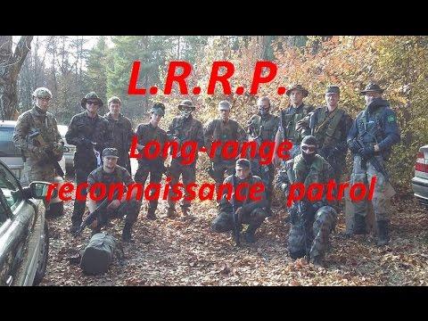 Airsoft---LRRP Long-Range Reconnaissance Patrol (Support gunner A&K M249 Para)