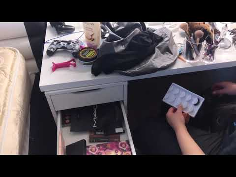 Cleaning My Room finally!!  +vanity desk organizing