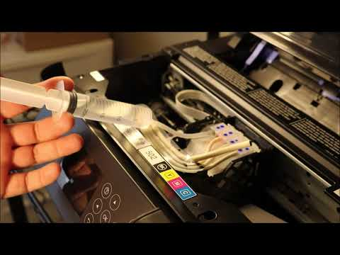 Epson ET 2750 - How To Clean Printhead - Printer Error Solved