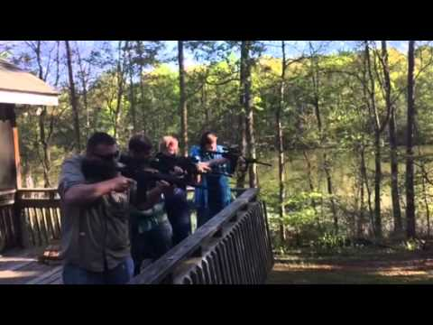 Freedom Picnic 4 AR-15s
