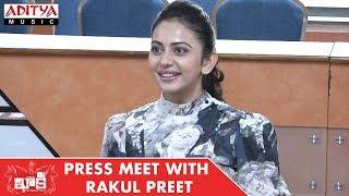 Khakee (The Power Of Police) Movie Press Meet With Rakul Preet