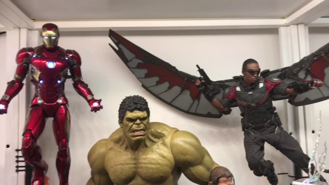 osw.zone My updated collection of Hot Toys Avengers and Star Wars