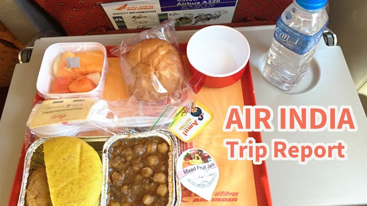 Air India Flight Report Inflight Breakfast In Early