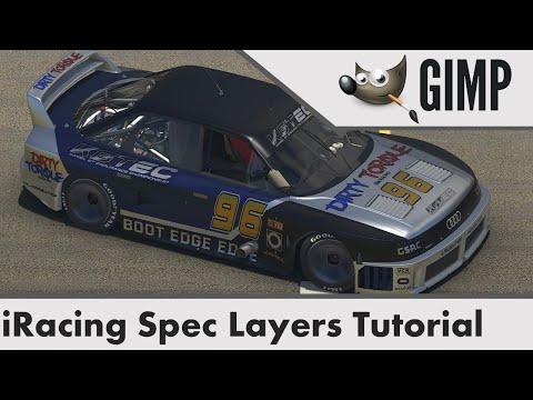 iRacing Spec Map Tutorial using Gimp thumbnail