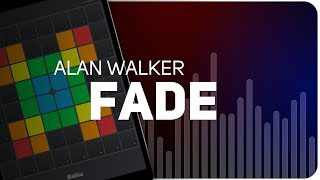 Playing Fade | Alan Walker on Super Pads Lights - Launchpad