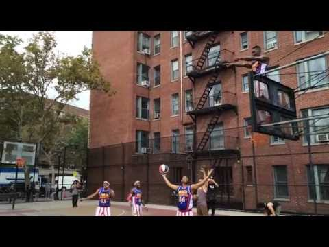 What  happens after Harlem Globetrotters collaborate with STOMP?