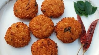 How To Make Kerala Style Parippu Vada /Lentil / Dal Fritters