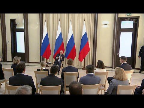 Президент на встрече с предпринимателями говорил о поддержке бизнеса в условиях борьбы с COVID-19.