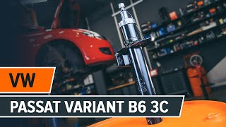 Montáž predné a zadné Tlmič pruzenia VW PASSAT Variant (3C5): video zadarmo